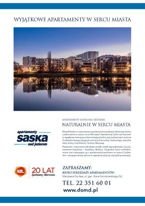 Dom Development Osiedle Saska - format cała strona