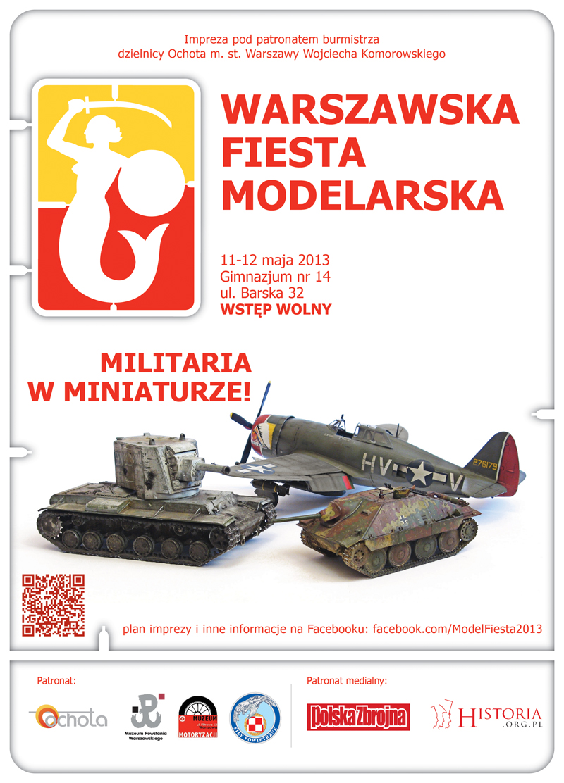 Warszawska Fiesta Modelarska 11-12.05