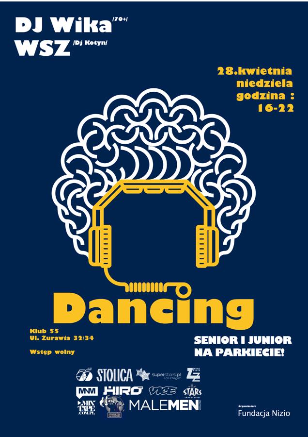 Dancing Międzypokoleniowy 28.04 w Klubie 55