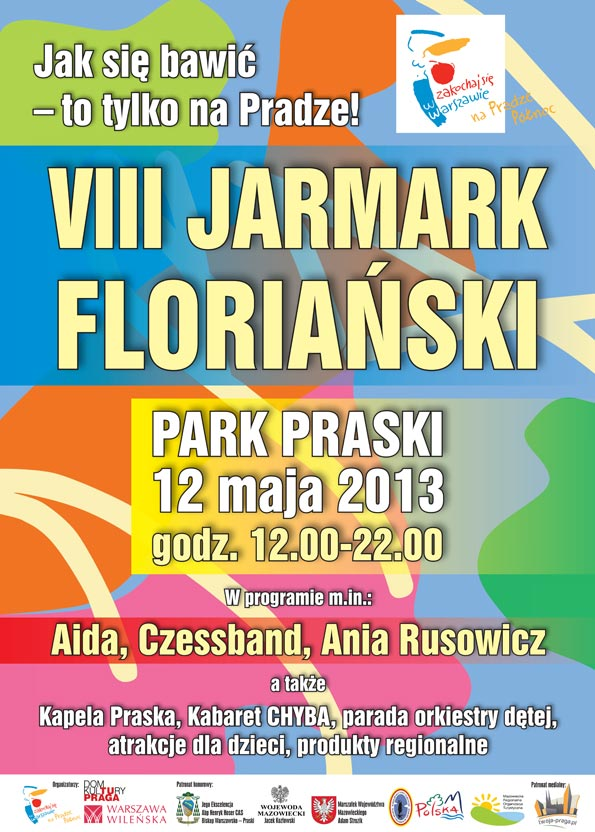 Jarmark Floriański 12.05. Park Praski