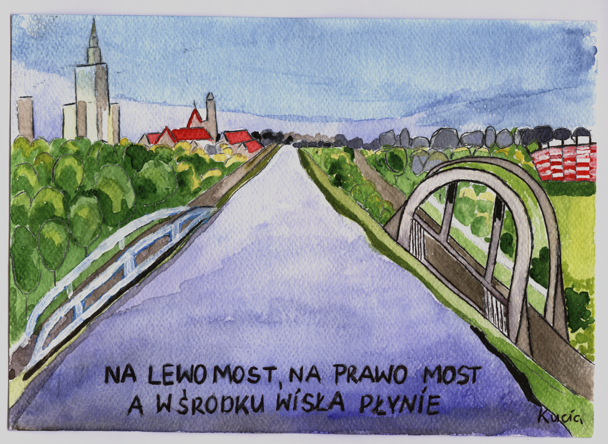 Warszawa i Warszawka w muzeum Karykatury