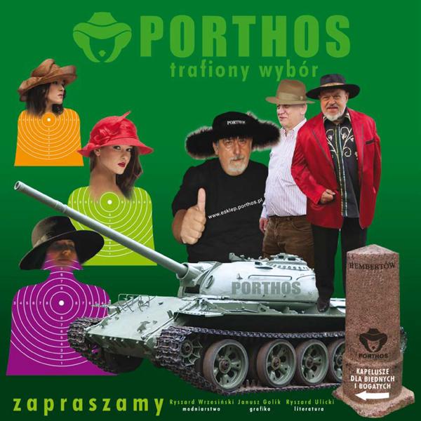 Zaproszenie Porthos Kapelusze i Jazz
