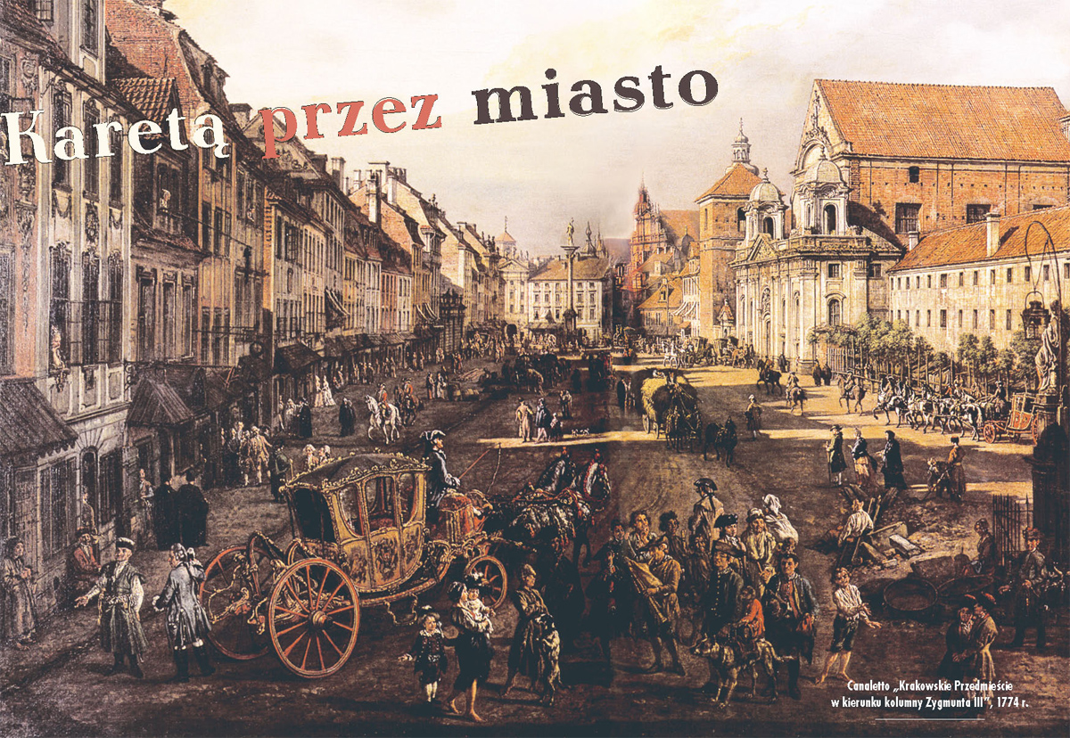 Ulice w dobie karet – Stanisław Milewski