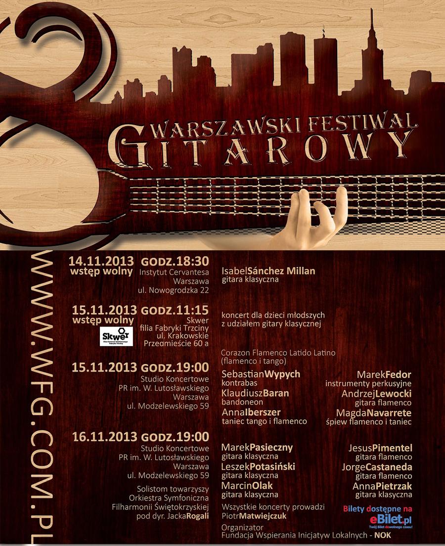 Warszawski Festiwal Gitarowy 2013