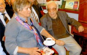 Prof. Ewa Bernatowska i Józef Hen