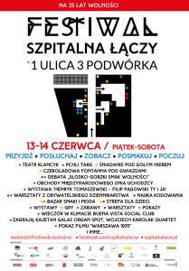 """Festiwal """"Szpitalna łączy"""""""