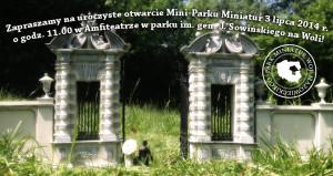 Otwarcie Mini Parku Miniatur