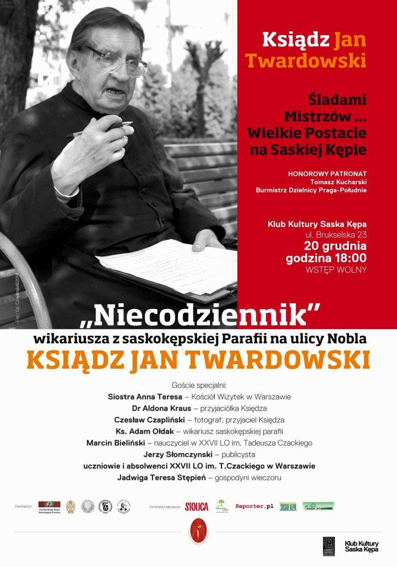 Śladami Mistrzów – ks. Jan Twardowski