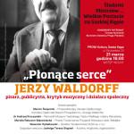 """""""Płonące serce"""" JERZY WALDORFF"""