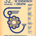 """32. konkurs """"Warszawa w kwiatach i zieleni"""""""