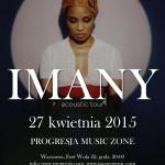Imany w Progresja Music Zone