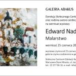Wystawa Edwarda Nadulskiego w SCEK