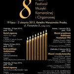 8. Praski Festiwal Muzyki Kameralnej i Organowej