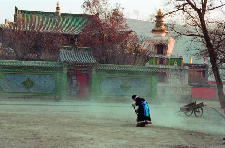 3. Tybet. W drodze do Kumbum, fot. Elżbieta Sęczykowska
