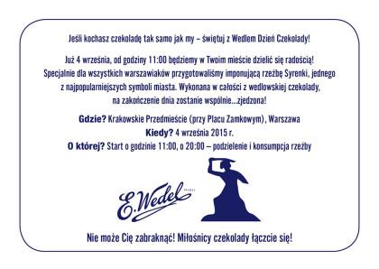 Zaproszenie Warszawa