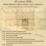 368 Urodziny Pragi –  10 lutego 2016