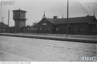 Stacja kolejki wąskotorowej Grochów II. NAC