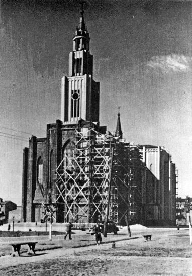kościół Pl. Szembeka 1946