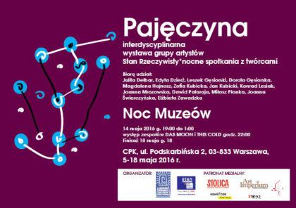 zaproszenie Pajeczyna NM