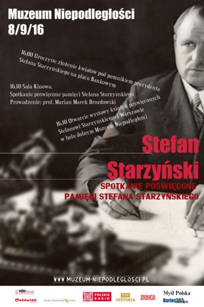 Starzynski 8.09.16-plakat