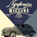 Zlot samochodów marki Warszawa i Syrena