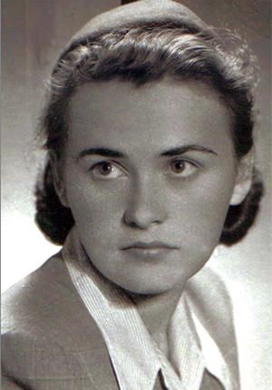 Krystyna Skuszanka początek lat 50.
