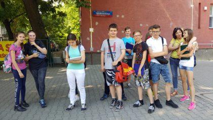 Warsztaty terenowe z młodzieżą z Gimnazjum nr 31, ul. Sierakowskiego 9