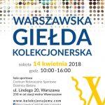 Warszawska Giełda Kolekcjonerska 14.04.2018