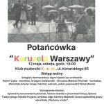 """Potańcówka """"Karuzela Warszawy"""""""
