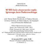 16.01 Debata Historyczna X Pawilon Cytadeli