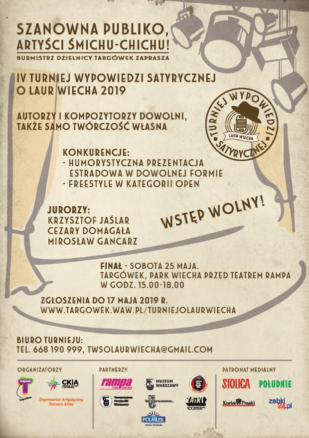 Targówek Satyryczny Wiechowisko Warszawski Magazyn