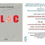 Spotkanie z Jarosławem Zielińskim 16.03.20